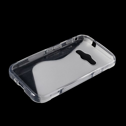 Deksel for Samsung Galaxy Xcover 3 S-Line Transparent