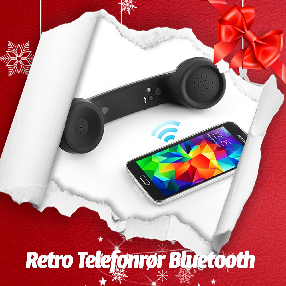 Retro Telefonrør Bluetooth